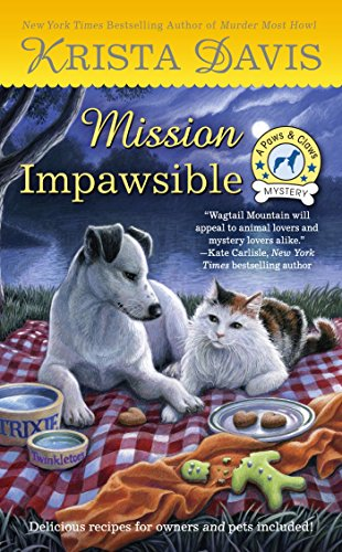 Mission Impawsible (A Paws & Claws Mystery) by [Davis, Krista]