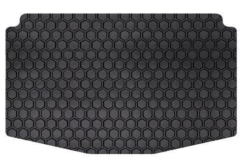 intro-tech Hexomat CargoエリアカスタムフロアマットHummerハマーh3の選択モデル – rubber-like複合(ブラック) by intro-tech自動車 B01B3TPEZW  - -