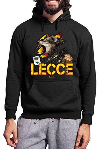 Wolf Per 60Poliestere Fermento Swetshirt Lecce 1908Felpa Vintage Italia Uomo Tifosi 40Cotone Jhk xBdorCe