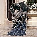 Design Toscano Scatheus, Guardian of the Shadows Gargoyle Sculpture