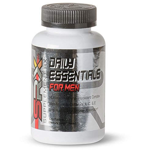 - Supplement Rx - Daily Essentials Multivitamin for Men, 120 Tablets, Time-Released