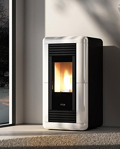 COLA Stufa a Pellet 11 kW Medea LA13J10Y: Amazon.it: Casa e ...