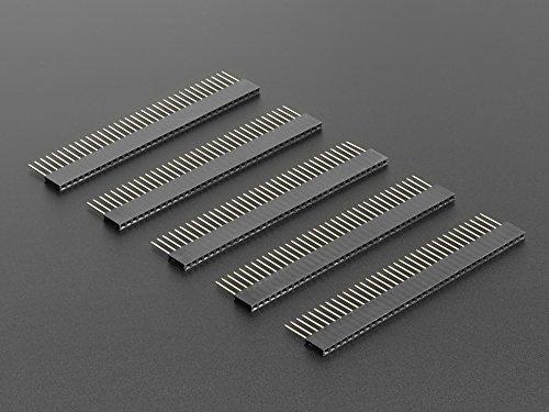 Adafruit 3366 36 pin Stacking header pack of 5
