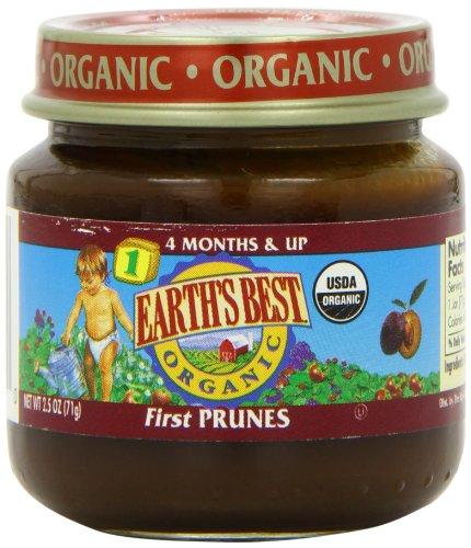 Earths Best Organic First Prunes