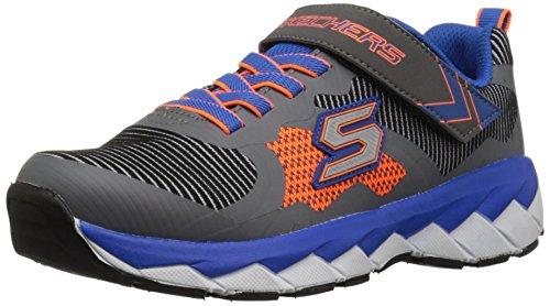 Noir gris Orange nbsp;perplex Noir Zipperz Skechers Baskets bbor Et Basses Garçon bleu CWZwUg0Fxq