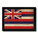 Hawaii State Vintage Flag Collection Western Interior Design Souvenir Gift Ideas Wall Art Home Decor Office Decoration - 23''x33''