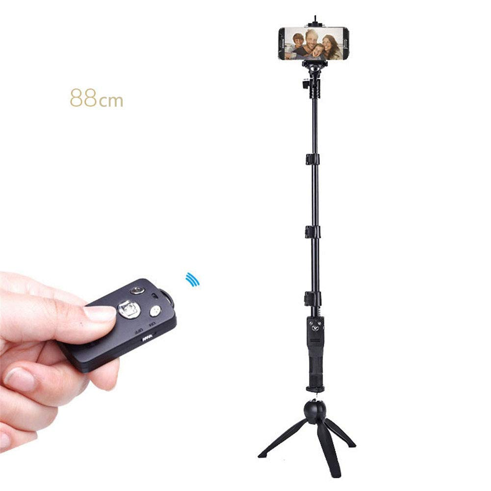Wxnnx Phone Tripod, Universal Selfie Stick Tripod, with Wireless Remote, for Cell Phone,Camera,GoPro,iOS & Android,4 by Wxnnx