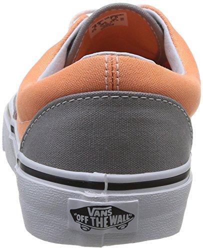 Vans U Era - Zapatillas de deporte de canvas para mujer multicolor - Multicolore (Frost Gray/Canteloupe)
