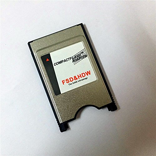 - Bodawei Laptop PCMCIA Digigear Compact Flash CF to PCMCIA PC Memory Card Adapter Reader (ATA Flash/UDMA) PCMCIA Adapter for Cf Card