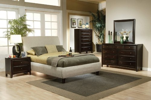 5pc Phoenix Queen Bedroom Set by Coaster Furniture by Coaster Home Furnishings