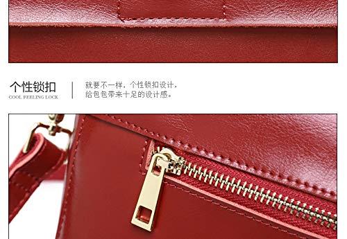 Tongling Tessuto Tracolla Piccola Borsa Per A Rosso Donna Mxl In 8OwHrxf8q
