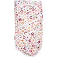 Miracle Blanket Swaddle for Baby Girls, Cirque D Fleur