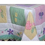 PEM America Spring Meadow Multicolor Quilt Set - Twin