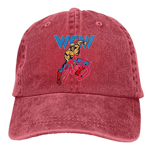 Sbbiegen886wo Men's Womens Comfortable Sting WCW Wrestling Retro Adult Cowboy Headgear Red for $<!--$9.99-->