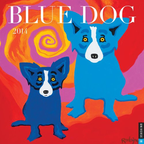 Blue Dog 2014 Wall Calendar - Dogs 2014 Wall Calendar
