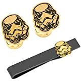 Cufflinks Officially Licensed Stormtrooper Canto Bight Cufflinks and Tie Bar Gift Set, Star Wars