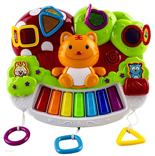 Wolvol Baby Piano Activity Center With Beautiful Light