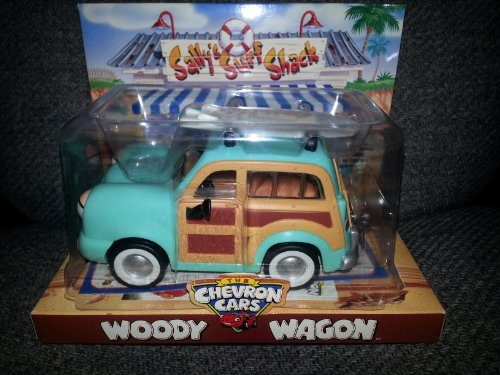 Chevron Toy Car Woody Wagon - Chevron Toy Cars
