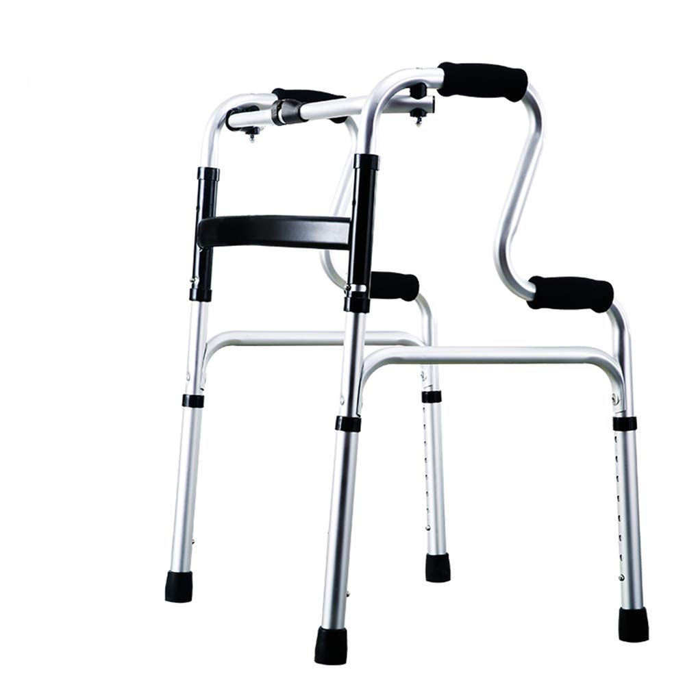 XXHDEE Elderly Walker Walker Can Help Get Up and Lower Limb Training Without Pulley Four-Legged Chair Walking aids (Color : A) by XXHDEE