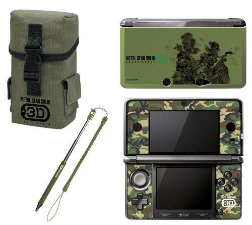 60789987fbeff Nintendo 3DS - Pack De Accesorios Metal Gear Solid  Snake Eater 3D  Amazon. es  Videojuegos