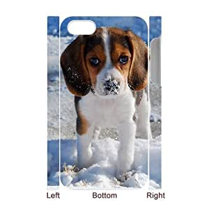 WINDFC Beagle Phone 3D Case For Iphone 4/4s [Pattern-1]