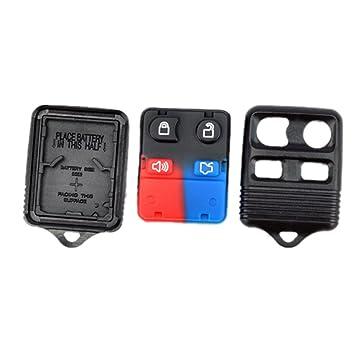 Amazon.com: Nueva carcasa de llave de 4 botones carcasa del ...