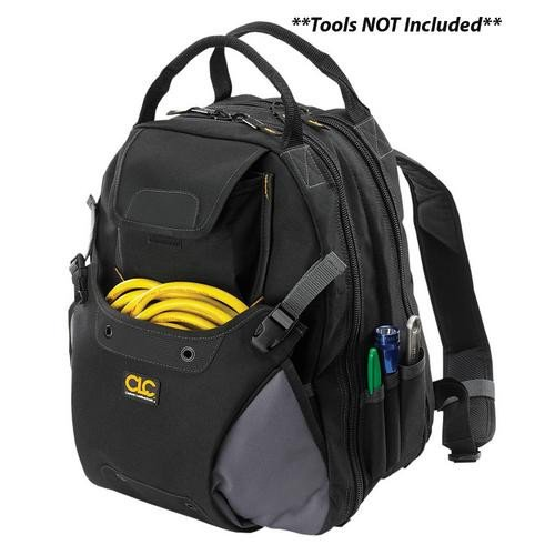 Deluxe Tool Leather - CLC Work Gear 1134 48 Pocket Tool Backpack