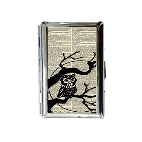 ssic Metallic Silver Color Stainless Steel ID Cigarette Case Holder Credit Card RFID Protective Security Wallet (Metallic Business Card Case)