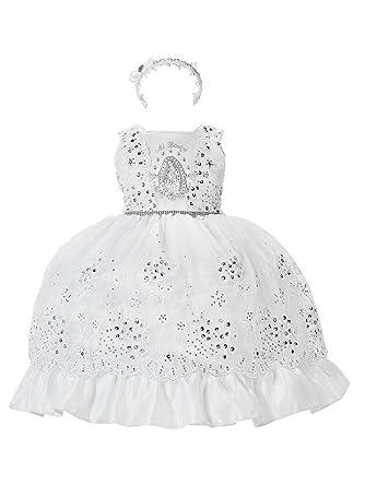 Amazon.com: Alegria - Vestido de bautizo para niña (6 a 29.5 ...