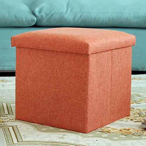 SGHKP Taburete de Almacenamiento Taburete de Almacenamiento Puede Sentarse para Adultos sofá Taburete hogar Moda Caja de...