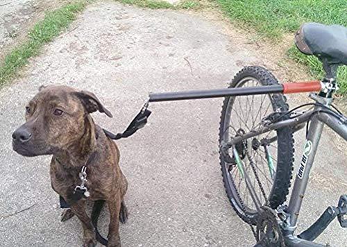 Dog Bicycle Exerciser Leash- Hands Free Dog Bicycle Bike Sport Exerciser Leash Lead Exerciser for Running Exercising Training Walking Jogging by DAN (Image #2)