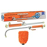 ExtendoWasho Pressure Power Washer - Cleaning Water Cannon - Hydro Jet Washing Wand - Glass/Car/Garden/Patio Powerwasher - Flexible Extension Hose Wand - Window Cleaner - Hydroshot Pressure Washer