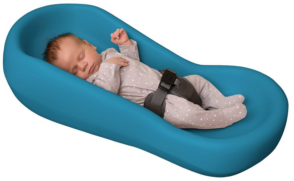 Soft Snoozer Baby Lounger Raspberry
