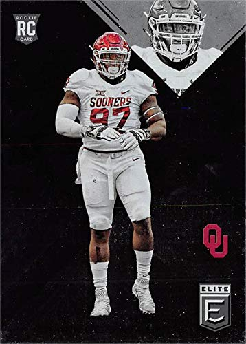 Charles Walker football card (Oklahoma Sooners) 2017 Panini Elite Rookie #147