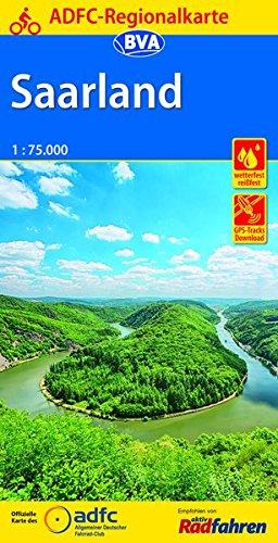 ADFC-Regionalkarte Saarland, 1:75.000, reiß- und wetterfest, GPS-Tracks Download (ADFC-Regionalkarte 1:75000) Landkarte – Folded Map, 2. Februar 2017 reiß- und wetterfest BVA BikeMedia GmbH 3870737786 Deutschland