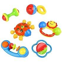 Peradix Baby Greifling Rassel Spielzeug