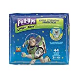 Pull-Ups Night-Time Training Pants for Boys, 3T-4T, 44 Count (Pack of 2- Total 88 Pants)(Packaging May Vary): more info