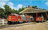 The Jacksonville Zoo Railraod, Encircles Zoo Jacksonville, Florida, FL, USA Postcard Post Card offers