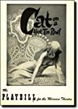 PLAYBILL (CAT ON A HOT TIN ROOF) Morosco Theatre Week Beginning Monday, June 4, 1956