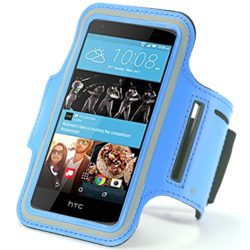 Sports Armband for HTC Desire Eye (Black) - 3