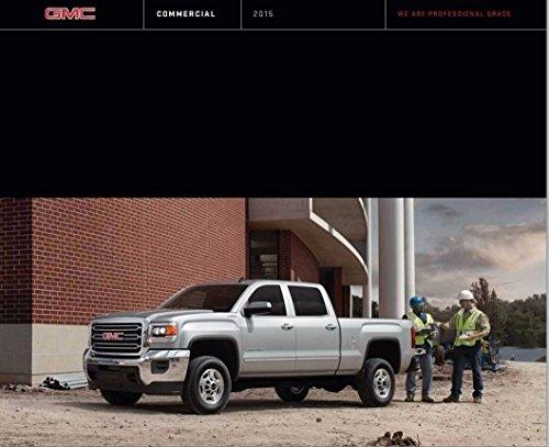 - 2015 GMC Truck 46-page Sales Brochure Catalog - Canyon Sierra Yukon Savana Van