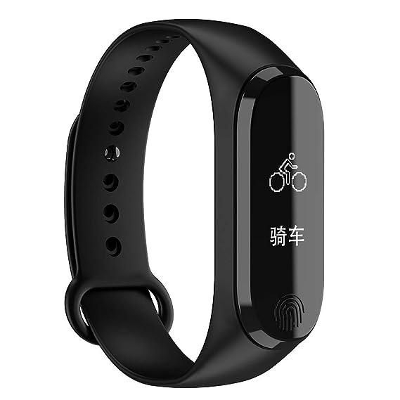 CAOQAO Reloj Inteligente Hombre Mujer Unisex Smart Watch ...