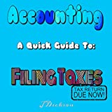 A Quick Guide To Filing Taxes (Income Taxes, Tax Returns, Business Write offs): Accounting