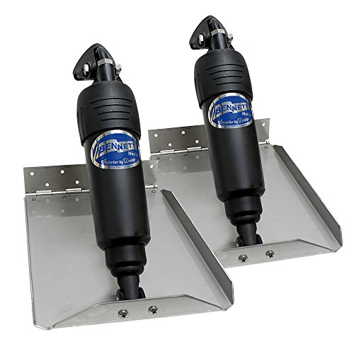 "Bennett Marine BOLT912ED 9"" x 12"" Tabs Bolt Electric Edge Mount Space Trim Kit"