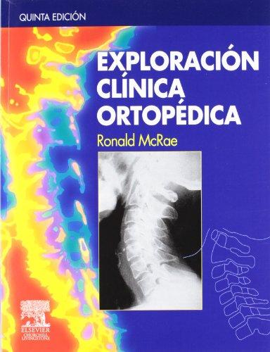 Descargar Libro Exploración Clínica Ortopédica R. Mcrae