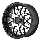 American Racing AR910 Gloss Black Wheel with Machined Face (20x9'/6x139.7mm, +18mm offset)
