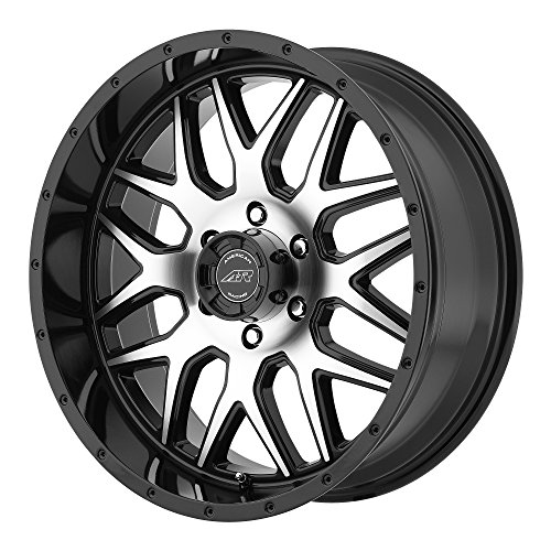 - American Racing AR910 Gloss Black Wheel with Machined Face (18x9