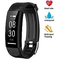 instecho Fitness Tracker, Custom Activity Tracker Heart...