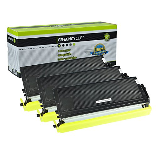 Greencycle 3 PK Compatible TN460 TN560 TN570 Toner Cartridge for Brother DCP-8040 DCP-8045D Printer
