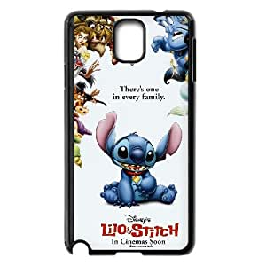 Lilo & Stitch Samsung Galaxy Note 3 Cell Phone Case Black Vueqk